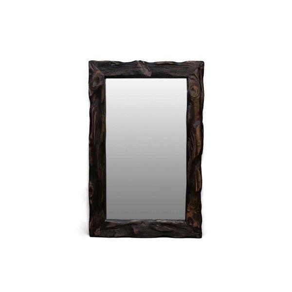 Зеркало Cube_SНастенные<br><br><br>stock: 1<br>Высота: 60<br>Ширина: 10<br>Материал: Сосна<br>Цвет: Палисандр<br>Длина: 45