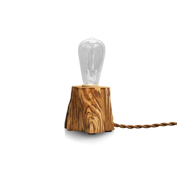 Настольный светильник QuerkНастольные<br><br><br>stock: 0<br>Высота: 10<br>Ширина: 10<br>Длина: 10<br>Количество ламп: 1<br>Материал абажура: Сосна<br>Мощность лампы: 40<br>Ламп в комплекте: Да<br>Напряжение: 230<br>Тип лампы/цоколь: E27<br>Тип производства: Ручное производство<br>Цвет абажура: Дуб<br>Цвет провода: Коричневый