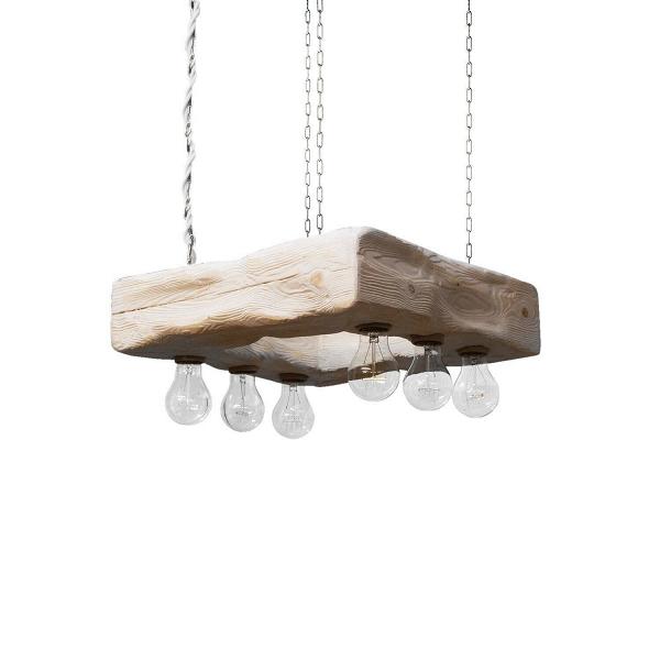 Подвесной светильник ForteПодвесные<br><br><br>stock: 0<br>Высота: 12<br>Ширина: 45<br>Длина: 45<br>Длина провода: 130<br>Количество ламп: 6<br>Материал абажура: Сосна<br>Мощность лампы: 40<br>Ламп в комплекте: Да<br>Напряжение: 230<br>Тип лампы/цоколь: E27<br>Тип производства: Ручное производство<br>Цвет абажура: Белый<br>Цвет провода: Белый