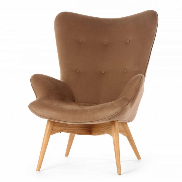 Кресло Contour 2Интерьерные<br>Дизайнерское глубокое кресло Contour 2 (Кантур 2) обивкой из ткани на деревянных ножках от Cosmo (Космо).<br><br><br> Австралийцы любят хороший дизайн воВвсем, отВоформления винных бочонков доВсерферных досок. Одним изВсамых ярких дизайнеров стал художник Грант Фезерстон, который начал заниматься дизайном в сороковых годах прошлого столетия иВсВтех пор стал иконой стиля воВвсем мире.<br><br><br> Идеальное как для прихожей, так иВдля гостиной, оригинальное кресл...<br><br>stock: 0<br>Высота: 91<br>Высота сиденья: 37<br>Ширина: 73,5<br>Глубина: 83<br>Цвет ножек: Дуб<br>Материал ножек: Массив дуба<br>Материал обивки: Хлопок, Лен<br>Коллекция ткани: Ray Fabric<br>Тип материала обивки: Ткань<br>Тип материала ножек: Дерево<br>Цвет обивки: Светло-коричневый<br>Дизайнер: Grant Featherston