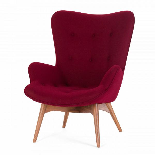 Кресло Contour 2Интерьерные<br>Дизайнерское глубокое кресло Contour 2 (Кантур 2) обивкой из ткани на деревянных ножках от Cosmo (Космо).<br><br><br> Австралийцы любят хороший дизайн воВвсем, отВоформления винных бочонков доВсерферных досок. Одним изВсамых ярких дизайнеров стал художник Грант Фезерстон, который начал заниматься дизайном в сороковых годах прошлого столетия иВсВтех пор стал иконой стиля воВвсем мире.<br><br><br> Идеальное как для прихожей, так иВдля гостиной, оригинальное кресл...<br><br>stock: 0<br>Высота: 91<br>Высота сиденья: 37<br>Ширина: 73,5<br>Глубина: 83<br>Цвет ножек: Орех американский<br>Материал ножек: Массив ореха<br>Материал обивки: Шерсть, Нейлон<br>Коллекция ткани: T Fabric<br>Тип материала обивки: Ткань<br>Тип материала ножек: Дерево<br>Цвет обивки: Бургунди<br>Дизайнер: Grant Featherston
