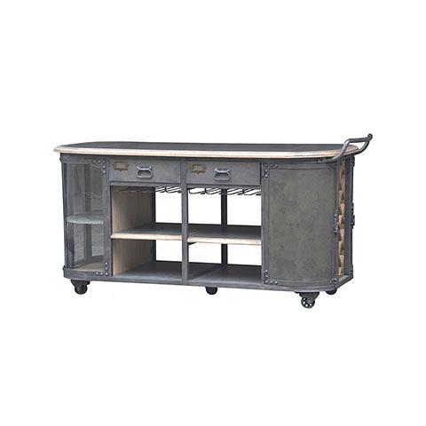 Стеллаж Шоп (EM-1984-2+SE-1072-1984-2-)Стеллажи<br>ROOMERS – это особенная коллекция, воплощение всего самого лучшего, модного и новаторского в мире дизайнерской мебели, предметов декора и стильных аксессуаров.<br>Интерьерные решения от ROOMERS – всегда актуальны, более того, они - на острие моды. Коллекции ROOMERS тщательно отбираются и обновляются дважды в год специально для вас.<br><br>stock: 1<br>Высота: 100<br>Ширина: 77<br>Материал: дерево, металл<br>Цвет: Grey<br>Длина: 186<br>Длина: 186<br>Ширина: 77<br>Высота: 100