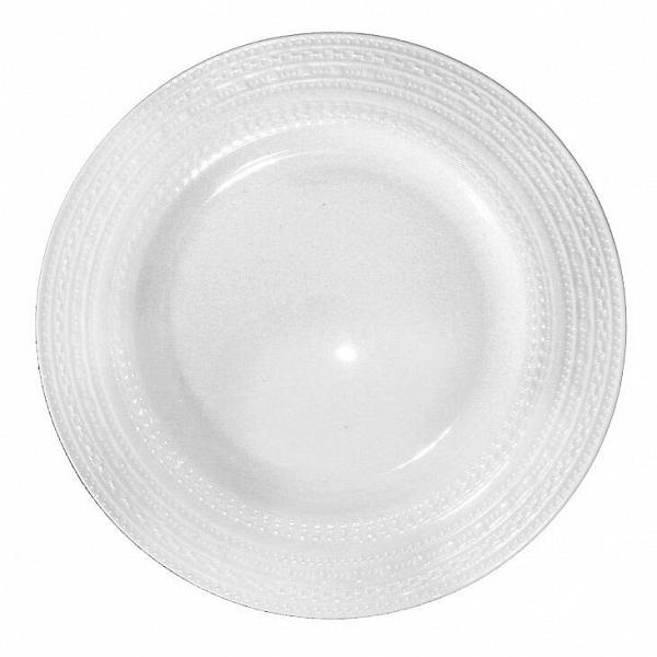 Тарелка столовая ReliefПосуда<br><br><br>stock: 0<br>Материал: Фарфор<br>Цвет: Белый<br>Диаметр: 26