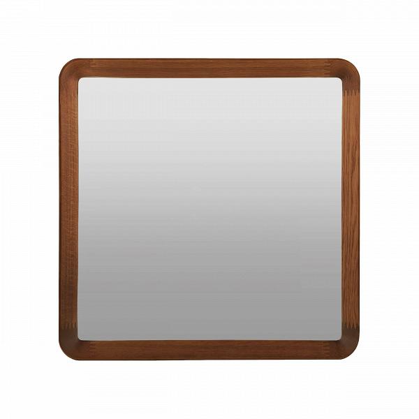 Настенное зеркало Velodrome квадратноеНастенные<br>Дизайнер Шон Дикс знает толк в современном минималистичном интерьере. За годы своего становления как дизайнера Дикс разработал свой фирменный стиль, состоящий из мотивов нескольких стилей в интерьере — эко и хай-тек. Если взглянуть хотя бы на несколько его работ, то впредь распознать авторский почерк будет несложно. Экоматериалы, сглаженные линии, натуральная текстура дерева — это постоянные атрибуты мебели и декора от Дикса. Мебель Шона Дикса минималистична иВинтеллектуальна, прекрасно ...<br><br>stock: 3<br>Высота: 60<br>Ширина: 60<br>Материал: Орех американский<br>Дизайнер: Sean Dix