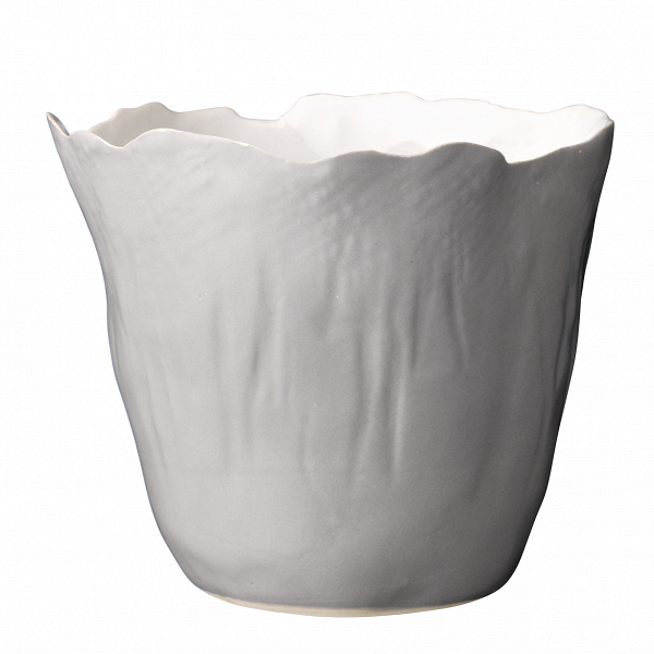 Кашпо Bloomingville сероеКашпо<br><br><br>stock: 1<br>Высота: 12<br>Материал: Керамика<br>Цвет: Белый<br>Диаметр: 13<br>Цвет дополнительный: Серый