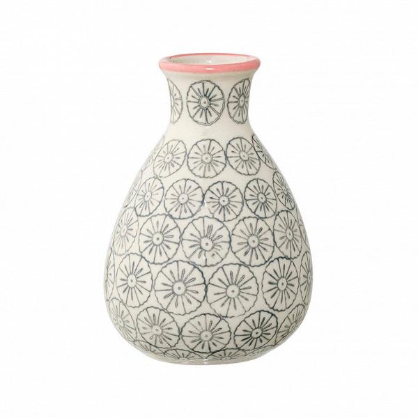 Ваза Bloomingville JagВазы<br><br><br>stock: 2<br>Высота: 11<br>Материал: Керамика<br>Цвет: Бежевый<br>Диаметр: 6.5<br>Цвет дополнительный: Серый