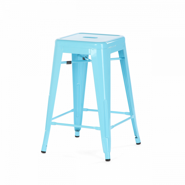 Полубарный стул MC-010Полубарные<br><br><br>stock: 37<br>Высота: 61<br>Ширина: 41<br>Глубина: 41<br>Тип материала каркаса: Сталь<br>Цвет каркаса: Голубой