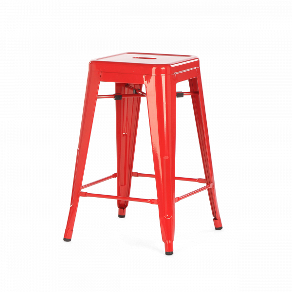 Полубарный стул MC-010Полубарные<br><br><br>stock: 18<br>Высота: 61<br>Ширина: 41<br>Глубина: 41<br>Тип материала каркаса: Сталь<br>Цвет каркаса: Красный