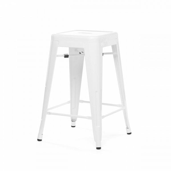 Полубарный стул MC-010Полубарные<br><br><br>stock: 41<br>Высота: 61<br>Ширина: 41<br>Глубина: 41<br>Тип материала каркаса: Сталь<br>Цвет каркаса: Белый