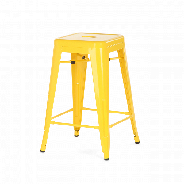 Полубарный стул MC-010Полубарные<br><br><br>stock: 4<br>Высота: 61<br>Ширина: 41<br>Глубина: 41<br>Тип материала каркаса: Сталь<br>Цвет каркаса: Желтый
