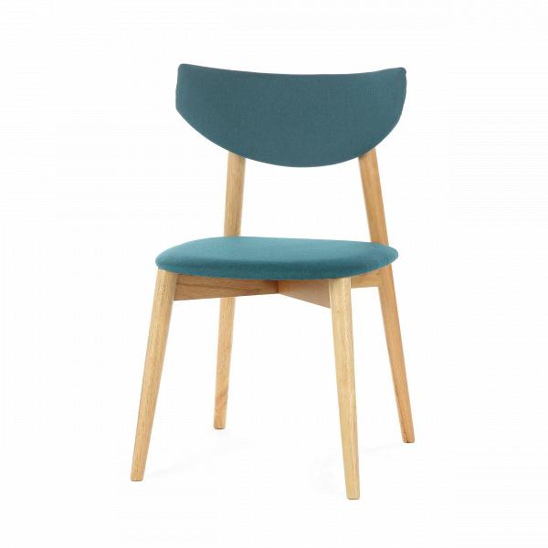 Стул JaceИнтерьерные<br>Простой ненавязчивый дизайн и стильные цвета — стул Jace обладает универсальным назначением и может применяться в самых разных местах. Дизайнер предусмотрел, чтобы изделие было как можно более удобным: спинка стула словно обтекает спину, благодаря чему сохранять правильную осанку на нем можно легко и без напряжения. На выбор предлагаются два цветовых решения: легкий бежево-серый и яркий и позитивный бирюзовый.<br><br><br> Стул Jace является прекрасным представителем мебели из каучукового дерева...<br><br>stock: 14<br>Высота: 80.5<br>Ширина: 49<br>Глубина: 48<br>Цвет ножек: Светло-коричневый<br>Материал ножек: Массив каучукового дерева<br>Материал сидения: Полиэстер<br>Цвет сидения: Бирюзовый<br>Тип материала сидения: Ткань<br>Тип материала ножек: Дерево