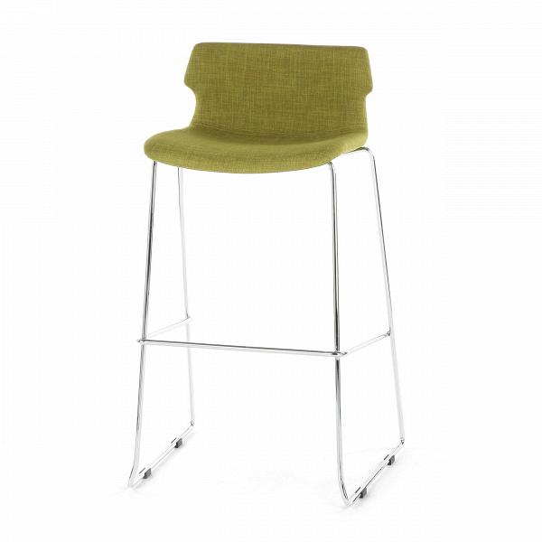 Барный стул CoveБарные<br>Барный стул Cove имеет простой, но интересный дизайн, который внесет частичку разнообразия в любой интерьер. Выбранные материалы и внешний вид изделия говорят об отношении к стилю хай-тек — прекрасному ультрасовременному направлению, которое позволяет сделать интерьер максимально светлым, просторным и функциональным.<br><br><br> Данная модель изготовлена из самых современных материалов, что гарантирует ей долгий срок службы и прекрасный внешний вид. Тканевая обивка сиденья и спинки сшиты из пол...<br><br>stock: 11<br>Высота: 97<br>Высота сиденья: 76<br>Ширина: 59<br>Глубина: 50<br>Цвет ножек: Хром<br>Цвет сидения: Горчичный<br>Тип материала сидения: Ткань<br>Тип материала ножек: Сталь