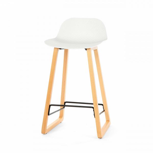 Барный стул Catina деревянныйБарные<br>Ультрасовременный дизайн барного стула Catina деревянный — это настоящий подарок для обладателя интерьера в стиле минимализм или хай-тек. Эти два стиля переосмысливают достижения высоких технологий о ценность свободного пространства и добавляют в них художественные черты. Барный стул Catina деревянный — прекрасный тому пример. Он отличается высокой функциональностью, лаконичным оформлением и необыкновенно красивыми, плавными линиями.<br><br><br> Барный стул Catina деревянный изготовлен из совре...<br><br>stock: 43<br>Высота: 86.5<br>Высота сиденья: 68<br>Ширина: 47<br>Глубина: 43.5<br>Цвет ножек: Светло-коричневый<br>Материал ножек: Массив бука<br>Тип материала каркаса: Полипропилен<br>Тип материала ножек: Дерево<br>Цвет каркаса: Белый