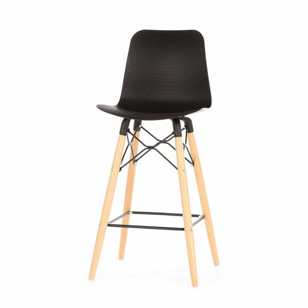 Полубарный стул EiffelПолубарные<br>Полубарный стул Eiffel — это инновационная модель, которая стала результатом гармоничного смешения разных стилей. Наиболее ярко в дизайне данной модели прослеживается стиль хай-тек — стильные черный и белый цвета, плавные изгибы, минимальное количество деталей и необыкновенно красивый внешний вид.<br><br><br> Хай-тек проявляет себя в данном стуле и в качестве материалов, которые используются для его создания. Спинка и сиденье сделаны из полипропилена — очень легкого, но прочного материала. Эта ...<br><br>stock: 0<br>Высота: 103.5<br>Высота сиденья: 68<br>Ширина: 47<br>Глубина: 47.5<br>Цвет ножек: Светло-коричневый<br>Материал ножек: Массив бука<br>Тип материала каркаса: Сталь<br>Цвет сидения: Черный<br>Тип материала сидения: Полипропилен<br>Тип материала ножек: Дерево<br>Цвет каркаса: Черный