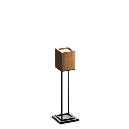 Напольный светильник Cubx 2S,Nut