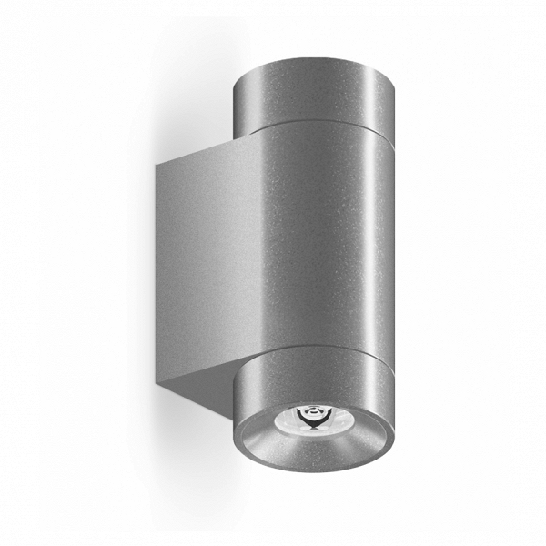 Уличный светильник Roll Mini Wall, AlumУличные<br>Уличный светильник Roll Mini Wall, Alum — маленькая модель настенного светильника с высоким уровнем гидроизоляции.<br> Может быть использован как в помещениях с повышенной влажностью (ванная<br> комната, бассейн), так и вне помещений. Используется для подсветки <br>вертикальных поверхностей стен, для подчеркивания фактуры фасада. <br>Заливает светом стену по всей высоте и полноценно освещает поверхность <br>пола. Отличается высокой яркостью и отличным качеством света.<br><br>stock: 0<br>Высота: 9<br>Диаметр: 4,5<br>Длина: 7<br>Длина провода: 100<br>Количество ламп: 1<br>Материал абажура: Алюминий<br>Материал арматуры: Алюминий<br>Мощность лампы: 6<br>Ламп в комплекте: Да<br>Напряжение: 220<br>Степень защиты: 67<br>Теплота света: 3000<br>Тип лампы/цоколь: LED<br>Цвет абажура: Хром<br>Цвет арматуры: Хром<br>Цвет провода: Черный