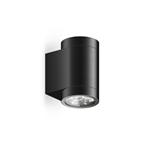 Уличный светильник Roll Midi Wall, BlackУличные<br>Уличный светильник Roll Midi Wall, Black — средняя по размеру модель настенного светильника с высоким уровнем <br>гидроизоляции. Может быть использован как в помещениях с повышенной <br>влажностью (ванная комната, бассейн), так и вне помещений. Используется <br>для подсветки вертикальных поверхностей стен, для подчеркивания фактуры <br>фасада. Заливает светом стену по всей высоте и полноценно освещает <br>поверхность пола. Отличается высокой яркостью и отличным качеством <br>света.<br><br>stock: 0<br>Высота: 10<br>Диаметр: 6<br>Длина: 13,8<br>Длина провода: 100<br>Количество ламп: 3<br>Материал абажура: Алюминий<br>Материал арматуры: Алюминий<br>Мощность лампы: 18<br>Ламп в комплекте: Да<br>Напряжение: 220<br>Степень защиты: 67<br>Теплота света: 3000<br>Тип лампы/цоколь: LED<br>Цвет абажура: Черный<br>Цвет арматуры: Черный<br>Цвет провода: Черный