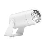 Уличный светильник Roll Max, WhiteУличные<br>Уличный светильник Roll Max, White — большая модель ландшафтного светильника с высоким уровнем гидроизоляции.<br> Светильник выполняет роль прожектора. Предназначен для подсветки <br>крупных архитектурных элементов, заливки стен светом, подсветки <br>элементов фасада. Может выполнять функции wall washer (равномерная <br>заливка светом больших поверхностей) при установке линзы с широким углом<br> света. Отличается высокой яркостью и отличным качеством света.<br><br>stock: 0<br>Высота: 13<br>Диаметр: 9,2<br>Длина: 19<br>Длина провода: 100<br>Количество ламп: 3<br>Материал абажура: Алюминий<br>Материал арматуры: Алюминий<br>Мощность лампы: 16<br>Ламп в комплекте: Да<br>Напряжение: 220<br>Степень защиты: 67<br>Теплота света: 3000<br>Тип лампы/цоколь: LED<br>Цвет абажура: Белый<br>Цвет арматуры: Белый<br>Цвет провода: Черный