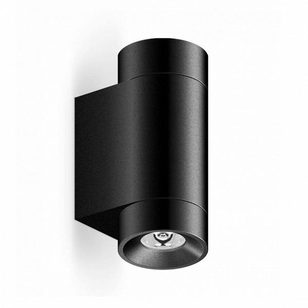 Уличный светильник Roll Mini Wall, BlackУличные<br>Уличный светильник Roll Mini Wall, Black — маленькая модель настенного светильника с высоким уровнем гидроизоляции.<br> Может быть использован как в помещениях с повышенной влажностью (ванная<br> комната, бассейн), так и вне помещений. Используется для подсветки <br>вертикальных поверхностей стен, для подчеркивания фактуры фасада. <br>Заливает светом стену по всей высоте и полноценно освещает поверхность <br>пола. Отличается высокой яркостью и отличным качеством света.<br><br>stock: 0<br>Высота: 9<br>Диаметр: 4,5<br>Длина: 7<br>Длина провода: 100<br>Количество ламп: 1<br>Материал абажура: Алюминий<br>Материал арматуры: Алюминий<br>Мощность лампы: 6<br>Ламп в комплекте: Да<br>Напряжение: 220<br>Степень защиты: 67<br>Теплота света: 3000<br>Тип лампы/цоколь: LED<br>Цвет абажура: Черный<br>Цвет арматуры: Черный<br>Цвет провода: Черный