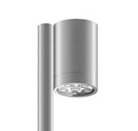 Уличный светильник Roll Max Ground, AlumУличные<br>Уличный светильник Roll Max Ground, Alum — большая модель ландшафтного светильника с высоким уровнем гидроизоляции.<br> Светильник предназначен для подсветки малых и крупных садовых форм, <br>кустов, деревьев и архитектурных элементов, также идеально подходит для<br> освещения садовых тротуаров. Основание светильника (место, где <br>светильник крепится к шесту) оснащено двумя поворотными осями: <br>вертикальной (180°) и горизонтальной (355°). Отличается высокой яркостью<br> и отличным качеством света.<br><br>stock: 0<br>Высота: 16<br>Диаметр: 8,3<br>Длина: 11<br>Длина провода: 100<br>Количество ламп: 6<br>Материал абажура: Алюминий<br>Материал арматуры: Алюминий<br>Мощность лампы: 16<br>Ламп в комплекте: Да<br>Напряжение: 220<br>Степень защиты: 67<br>Теплота света: 3000<br>Тип лампы/цоколь: LED<br>Цвет абажура: Хром<br>Цвет арматуры: Хром<br>Цвет провода: Черный