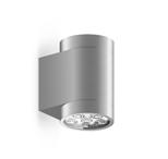 Уличный светильник Roll MaxWall, AlumУличные<br>Уличный светильник Roll Max Wall, Alum — большая модель настенного светильника с высоким уровнем гидроизоляции. <br>Может быть использован как в помещениях с повышенной влажностью (ванная <br>комната, бассейн), так и вне помещений. Используется для подсветки <br>вертикальных поверхностей стен, для подчеркивания фактуры фасада. <br>Заливает светом стену по всей высоте и полноценно освещает поверхность <br>пола. Отличается высокой яркостью и отличным качеством света.<br><br>stock: 0<br>Высота: 15<br>Диаметр: 8,2<br>Длина: 11<br>Длина провода: 100<br>Количество ламп: 6<br>Материал абажура: Алюминий<br>Материал арматуры: Алюминий<br>Мощность лампы: 32<br>Ламп в комплекте: Да<br>Напряжение: 220<br>Степень защиты: 67<br>Теплота света: 3000<br>Тип лампы/цоколь: LED<br>Цвет абажура: Хром<br>Цвет арматуры: Хром<br>Цвет провода: Черный