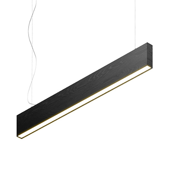 Подвесной светильник Timber Lamp, BlackПодвесные<br>Фирме Handy очень хотелось создать простой светильник. Простой в хорошем смысле этого слова. Чтобы в нем не было излишней вычурности, как у европейских дизайнерских светильников, и при этом он не был безликим и «строительным» вроде светильников в алюминиевом профиле. Скромный и приятный внешний вид (корпус может быть выполнен из любой породы дерева) и отличное качество света — вот идеальный рецепт простого светильника. <br> <br> Подвесной светильник Timber Lamp, Black используется для основного <br>...<br><br>stock: 0<br>Высота: 16<br>Ширина: 5<br>Длина: 120<br>Длина провода: 200<br>Количество ламп: 1<br>Материал абажура: Дерево<br>Мощность лампы: 30<br>Ламп в комплекте: Да<br>Напряжение: 220<br>Степень защиты: 40<br>Теплота света: 3000<br>Тип лампы/цоколь: LED<br>Цвет абажура: Черный<br>Цвет провода: Черный
