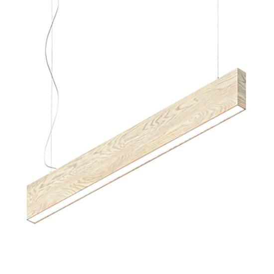 Подвесной светильник Timber Lamp, OakПодвесные<br>Фирме Handy очень хотелось создать простой светильник. Простой в хорошем смысле этого слова. Чтобы в нем не было излишней вычурности, как у европейских дизайнерских светильников, и при этом он не был безликим и «строительным» вроде светильников в алюминиевом профиле. Скромный и приятный внешний вид (корпус может быть выполнен из любой породы дерева) и отличное качество света — вот идеальный рецепт простого светильника. <br> <br> Подвесной светильник Timber Lamp, Oak используется для основного <br>и...<br><br>stock: 0<br>Высота: 16<br>Ширина: 5<br>Длина: 120<br>Длина провода: 200<br>Количество ламп: 1<br>Материал абажура: Дерево<br>Мощность лампы: 30<br>Ламп в комплекте: Да<br>Напряжение: 220<br>Степень защиты: 40<br>Теплота света: 3000<br>Тип лампы/цоколь: LED<br>Цвет абажура: Дуб<br>Цвет провода: Черный