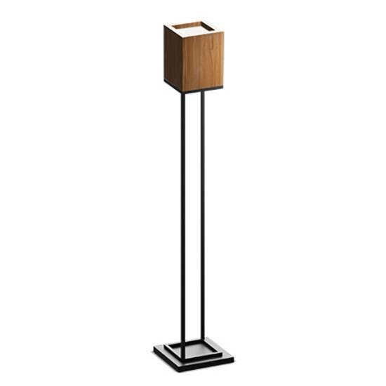 Напольный светильник Cubx 2, Nut