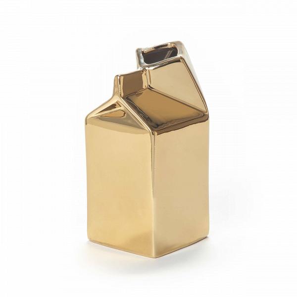 Молочник Estetico QuotidianoПосуда<br>Молочник Estetico Quotidiano из коллекции столовой посуды Estetico Quotidiano. Что вВнашей жизни может быть привычнее иВнезаметнее, чем, например, одноразовая посуда или пластиковые бутылки? Разве только посуда вВсобственном доме, наВрисунок которой уже давно неВобращаешь внимания.<br><br><br> Дизайнер Алессандро Дзамбелли совместно с компанией Seletti выпустили коллекцию столовой посуды под названием Estetico Quotidiano, что можно перевести сВитальянского язык...<br><br>stock: 0<br>Высота: 14,5<br>Ширина: 7<br>Материал: Фарфор<br>Цвет: Золотой/Gold<br>Диаметр: 7