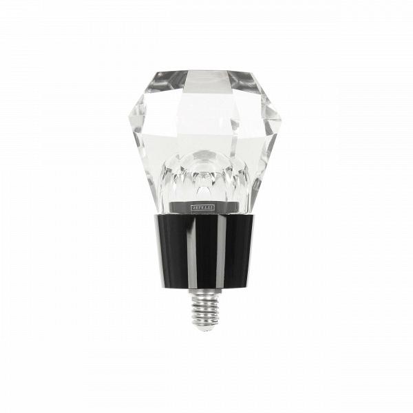 Лампочка CrystaledLED-лампочки<br>Оригинальные лампочки способны обходиться без всяких абажуров и плафонов, они и сами становятся отличным украшением интерьеров! Такой дизайнеры компании Seletti сделали и эту модель, лампочка Crystaled выполнена в форме кристалла – потрясающий вариант для создания интересной минималистичной обстановки.<br><br><br> Лампочка Crystaled изготовлена из прозрачного стекла и имеет несколько граней, словно настоящий кристалл. Благодаря такой форме изделие красиво рассеивает свет и стильно смотрится...<br><br>stock: 0<br>Высота: 12,5<br>Диаметр: 7<br>Материал абажура: Стекло<br>Цвет абажура: Прозрачный