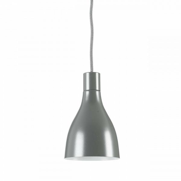 Подвесной светильник NofootПодвесные<br>Подвесной светильник Nofoot<br><br><br><br>Простой, но элегантный подвесной светильникВNofoot оформлен в традиционном стиле. Выполненный из материалов высокого качества, он идеально подойдет для современных интерьеров.В<br><br>stock: 2<br>Высота: 18<br>Диаметр: 12<br>Длина провода: 250<br>Материал абажура: Металл<br>Мощность лампы: 25<br>Ламп в комплекте: Нет<br>Тип лампы/цоколь: E14<br>Цвет абажура: Серый