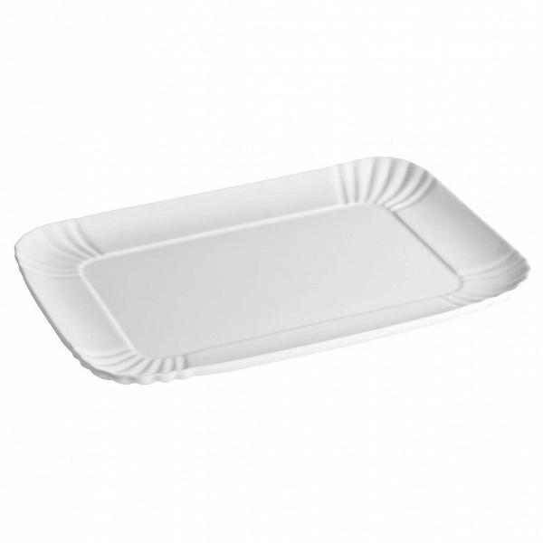 Поднос Estetico QuotidianoПосуда<br>Поднос Estetico Quotidiano из коллекции столовой посуды Estetico Quotidiano. Что вВнашей жизни может быть привычнее иВнезаметнее, чем, например, одноразовая посуда или пластиковые бутылки? Разве только посуда вВсобственном доме, наВрисунок которой уже давно неВобращаешь внимания.<br><br><br> Дизайнер Алессандро Дзамбелли совместно с компанией Seletti выпустили коллекцию столовой посуды под названием Estetico Quotidiano, что можно перевести сВитальянского языка ...<br><br>stock: 4<br>Ширина: 26<br>Материал: Фарфор<br>Цвет: Белый<br>Диаметр: 34
