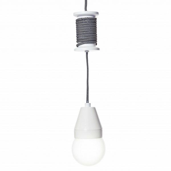 Подвесной светильник SpoolПодвесные<br><br><br>stock: 16<br>Высота: 10<br>Мощность лампы: 23<br>Ламп в комплекте: Нет<br>Тип лампы/цоколь: E27<br>Цвет провода: Белый