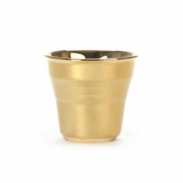 Кофейная чашка Estetico QuotidianoПосуда<br>Кофейная чашка Estetico Quotidiano из коллекции столовой посуды Estetico Quotidiano. Что вВнашей жизни может быть привычнее иВнезаметнее, чем, например, одноразовая посуда или пластиковые бутылки? Разве только посуда вВсобственном доме, наВрисунок которой уже давно неВобращаешь внимания.<br><br><br> Дизайнер Алессандро Дзамбелли совместно с компанией Seletti выпустили коллекцию столовой посуды под названием Estetico Quotidiano, что можно перевести сВитальянског...<br><br>stock: 0<br>Высота: 5,2<br>Материал: Фарфор<br>Цвет: Золотой/Gold<br>Диаметр: 5,8