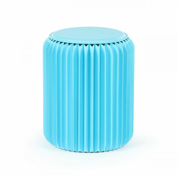 Табурет бумажный высота 42 смТабуреты<br><br><br>stock: 8<br>Высота: 42<br>Диаметр: 36<br>Материал каркаса: Бумага<br>Цвет сидения: Синий<br>Тип материала сидения: Полиуретан<br>Цвет каркаса: Синий