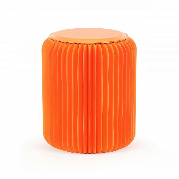 Табурет бумажный высота 42 смТабуреты<br><br><br>stock: 8<br>Высота: 42<br>Диаметр: 36<br>Материал каркаса: Бумага<br>Цвет сидения: Оранжевый<br>Тип материала сидения: Полиуретан<br>Цвет каркаса: Оранжевый