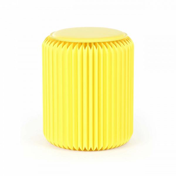 Табурет бумажный высота 42 смТабуреты<br><br><br>stock: 7<br>Высота: 42<br>Диаметр: 36<br>Материал каркаса: Бумага<br>Цвет сидения: Желтый<br>Тип материала сидения: Полиуретан<br>Цвет каркаса: Желтый