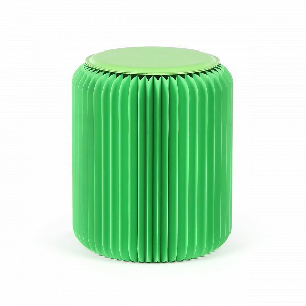 Табурет бумажный высота 42 смТабуреты<br><br><br>stock: 8<br>Высота: 42<br>Диаметр: 36<br>Материал каркаса: Бумага<br>Цвет сидения: Зеленый<br>Тип материала сидения: Полипропилен<br>Цвет каркаса: Зеленый