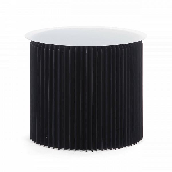 Стол бумажный высота 50 смКофейные столики<br>Кофейные столики могут не только служить удобным приспособлением в интерьере, но и украшать его своим внешним видом. Бумажный дизайн — это совершенная новинка в мире современного интерьера. Стол бумажный высота 50 см привлекает внимание, он разнообразит любую обстановку и станет незаменимой частью мебельной композиции комнаты.<br><br><br> Стол бумажный высота 50 см представляет собой цилиндр-гармошку из настоящей бумаги, которая спрессована особым образом и пропитана влагоотталкивающим веществ...<br><br>stock: 18<br>Высота: 50<br>Диаметр: 56<br>Цвет столешницы: Прозрачный<br>Материал каркаса: Бумага<br>Тип материала столешницы: Акрил<br>Цвет каркаса: Черный