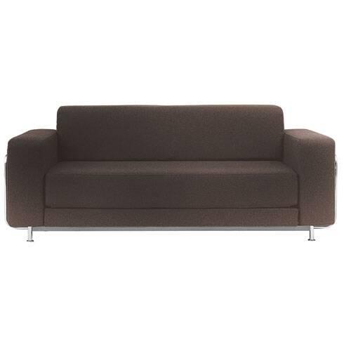 Диван SilverРаскладные<br>Дизайнерский диван Silver (Сильвер) из шерсти, полиамида и со стальным каркасом от Softline (Софтлайн).<br><br> Диван Silver — это аккуратный, элегантный иВминималистичный диван, работа Стине Энгельбрехтсен, известного датского дизайнера мебели, которая разработала большую коллекцию модульных диванов и серию мягкой мебели. Стине с детства увлекалась живописью и потому поступила в датскую Школу дизайна по специальности промышленный дизайн. С 2000 года Стине Энгельбрехтсен работает в качестве ...<br><br>stock: 0<br>Высота: 73<br>Высота сиденья: 38<br>Глубина: 86<br>Длина: 183<br>Материал обивки: Шерсть, Полиамид<br>Тип материала каркаса: Сталь<br>Коллекция ткани: Felt<br>Тип материала обивки: Ткань<br>Цвет обивки: Коричневый<br>Цвет каркаса: Хром