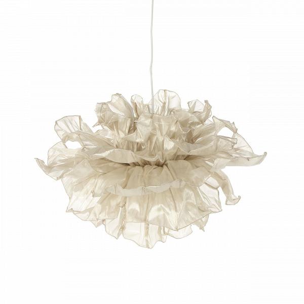 Подвесной светильник Fandango GoldПодвесные<br>Подвесной светильник Fandango Gold парит вВвоздухе подобно девушке, танцующей вВплатье сВразвевающейся пышной юбкой. Лепестки сделаны из хлопчатобумажного муслина, а по их краям вшита проволока. Несколько слоев лепестков, сделанных из ткани, могут быть с помощью проволоки расположены тем способом, который пожелает обладатель светильника.<br><br><br><br><br><br> Подвесной светильник Fandango Gold разработал для фирмы Hive дизайнер Дэнни Фанг. Он закончил Академию Эйндховена в Голландии, ...<br><br>stock: 0<br>Высота: 40<br>Диаметр: 75<br>Количество ламп: 1<br>Материал абажура: Хлопок<br>Материал арматуры: Металл<br>Тип лампы/цоколь: G9<br>Цвет абажура: Золотой<br>Дизайнер: Danny Fang