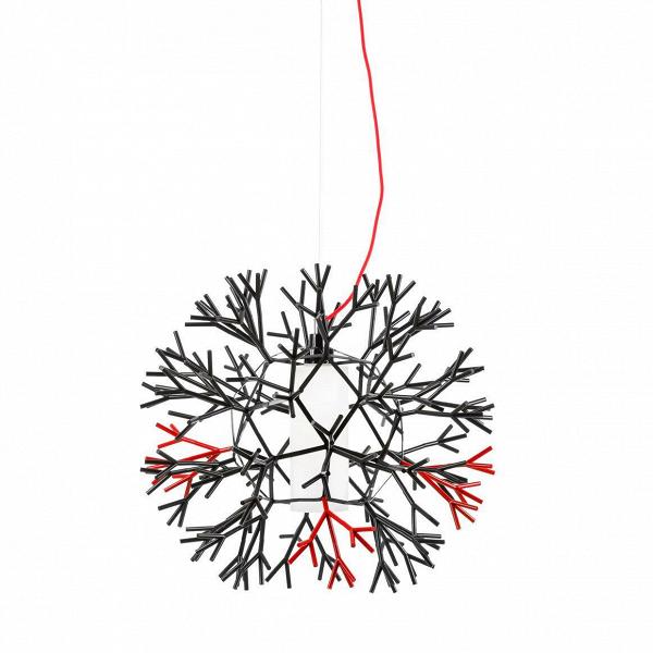 Подвесной светильник Pallucco CoralПодвесные<br><br><br>stock: 12<br>Высота: 60<br>Ширина: 60<br>Длина: 60<br>Доп. цвет абажура: Красный<br>Количество ламп: 1<br>Материал абажура: Акрил<br>Материал арматуры: Металл<br>Ламп в комплекте: Нет<br>Напряжение: 220<br>Тип лампы/цоколь: E27<br>Цвет абажура: Черный<br>Дизайнер: Lagranja