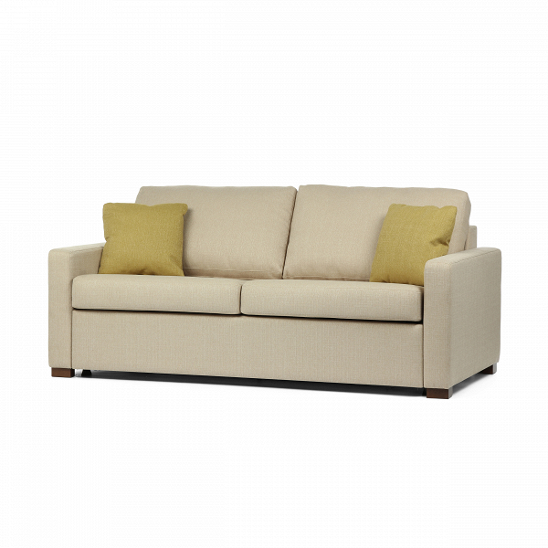 Диван TucsonРаскладные<br>Классический дизайнерский диван Tucson (Тусон) от компании Sits – это универсальный вариант практически для любого дома. Прелесть этой модели – в ее двойном формате. Диван легко превращается в кровать и обратно, благодаря чему вы получаете два в одном: комфортный диван для отдыха и удобную кровать для полноценного сна.<br><br><br> Компания Sits предлагает высококачественную, надежную мебель, которая будет радовать вас на протяжении многих десятков лет. Раскладной механизм этой модели прост в исп...<br><br>stock: 0<br>Высота: 88<br>Высота сиденья: 48<br>Глубина: 100<br>Длина: 196<br>Цвет ножек: Орех<br>Цвет подушки: Горчичный<br>Материал подушки: Полиэстер<br>Материал обивки: Полиэстер<br>Коллекция ткани: Категория ткани А<br>Тип материала обивки: Ткань<br>Тип материала ножек: Дерево<br>Цвет обивки: Бежевый