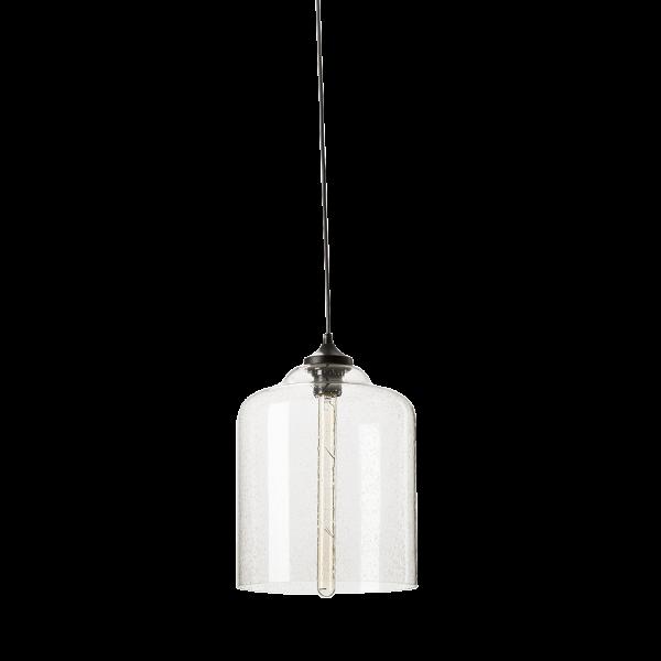 Подвесной светильник Bell JarПодвесные<br>Подвесной светильникВBell JarВ- изящная сестрица другой лампы - Campane из коллекции Bella, выполненной в той же стилистике и при использовании тех же материалов.<br> <br> Дизайн светильника разработан для тех, кто любит украшатьВинтерьерВбольшим количеством подвесных ламп. Подвесив несколько таких светильников рядом, вы непременно добьетесь ошеломляющего эффекта, способного порадовать ваших гостей и домашних.<br> <br> Минималистичный дизайн светильника освежен необычной лампой на...<br><br>stock: 0<br>Высота: 150<br>Диаметр: 24<br>Материал абажура: Стекло<br>Ламп в комплекте: Нет<br>Цвет абажура: Прозрачный<br>Дизайнер: Jeremy Pyles
