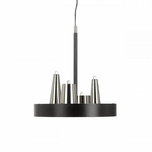 Подвесной светильник Table d'Amis 2Подвесные<br>Подвесной светильник Table d'Amis 2 — дизайнерская находка Вильяма Бранда и Аннет ван Эгмонд, которые основали фирму Brand van Egmond в 1989 году, практически сразу получив международное признание. С момента своего возникновения и до наших дней бренд диктует моду в области инновационного независимого светового дизайна, и данная работа — прямое тому подтверждение.<br> <br><br><br> Подвесной светильник Table d'Amis 2 специально создан для тех, для кого интерьер начинается с элегантности. Необычная и...<br><br>stock: 0<br>Высота: 150<br>Диаметр: 40<br>Доп. цвет абажура: Матовый никель<br>Количество ламп: 8<br>Материал абажура: Сталь<br>Мощность лампы: 1<br>Ламп в комплекте: Нет<br>Тип лампы/цоколь: LED<br>Цвет абажура: Черный матовый