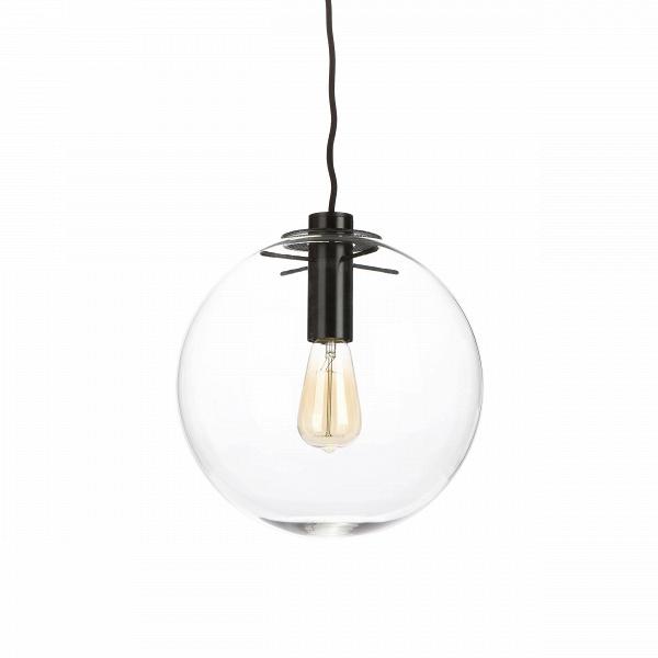 Подвесной светильник Selene диаметр 30Подвесные<br>Когда этот светильник загорается, он похож на светлячка в темноте. Его теплый рассеивающийся свет согревает каждый уголок помещения, а оригинальный и вместе с тем необычайно простой дизайн отличаются редкой универсальностью, которая позволяет светильнику вписаться в интерьер любого пространства.<br><br><br> Подвесной светильник Selene диаметр 30 — работа Сандры Линднер, которая в свое время так понравилась известному английскому дизайнеру Теренсу Конрану, что он выбрал именно этот светильник дл...<br><br>stock: 0<br>Высота: 180<br>Диаметр: 30<br>Количество ламп: 1<br>Материал абажура: Стекло<br>Материал арматуры: Металл<br>Мощность лампы: 60<br>Ламп в комплекте: Нет<br>Напряжение: 220<br>Тип лампы/цоколь: E27<br>Цвет абажура: Прозрачный<br>Цвет арматуры: Черный<br>Дизайнер: Sandra Lindner