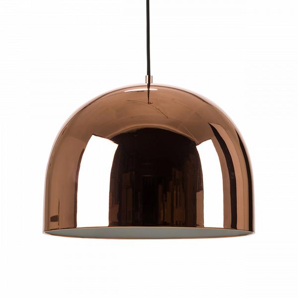 Подвесной светильник Corp диаметр 28Подвесные<br>Для помещений с высокими потолками важно подобрать подходящую люстру, которая бы подчеркивала достоинства комнаты. Предлагаем обратить внимание на подвесной светильник Corp диаметр 28, идеально соответствующий этим пожеланиям.<br><br><br> Для изготовления этого светильника используется облегченный металл двух вариантов расцветки: темно-серый и розовое золото. Хромированная зеркальная поверхность абажура, имеющего диаметр 28 см, создает дополнительный визуальный эффект увеличения высоты комнаты...<br><br>stock: 0<br>Высота: 150<br>Диаметр: 28<br>Количество ламп: 1<br>Материал абажура: Металл<br>Мощность лампы: 40<br>Ламп в комплекте: Нет<br>Напряжение: 220<br>Тип лампы/цоколь: E27<br>Цвет абажура: Золото розовое