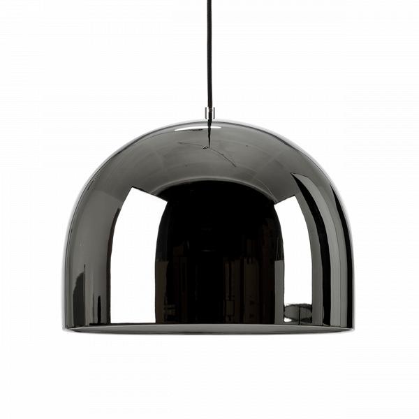 Подвесной светильник Corp диаметр 28Подвесные<br>Для помещений с высокими потолками важно подобрать подходящую люстру, которая бы подчеркивала достоинства комнаты. Предлагаем обратить внимание на подвесной светильник Corp диаметр 28, идеально соответствующий этим пожеланиям.<br><br><br> Для изготовления этого светильника используется облегченный металл двух вариантов расцветки: темно-серый и розовое золото. Хромированная зеркальная поверхность абажура, имеющего диаметр 28 см, создает дополнительный визуальный эффект увеличения высоты комнаты...<br><br>stock: 0<br>Высота: 150<br>Диаметр: 28<br>Количество ламп: 1<br>Материал абажура: Металл<br>Мощность лампы: 40<br>Ламп в комплекте: Нет<br>Напряжение: 220<br>Тип лампы/цоколь: E27<br>Цвет абажура: Хром