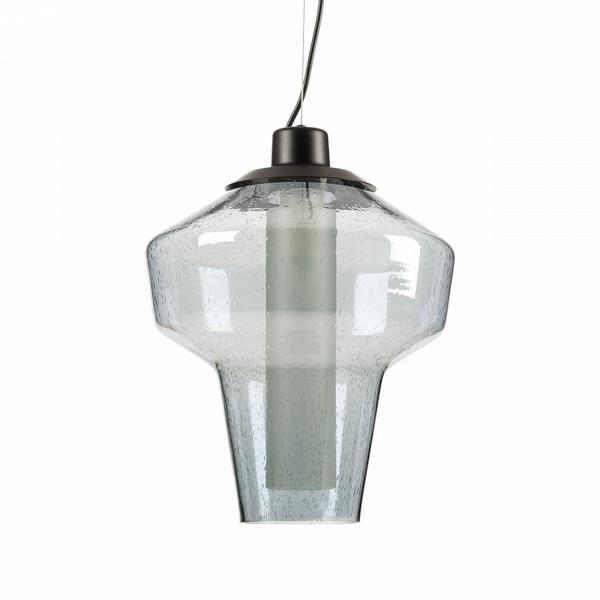 Подвесной светильник DieselПодвесные<br>Дизайн подвесного светильника Diesel разработан для тех, кто любит украшатьВинтерьерВбольшим количеством ламп. Подвесив несколько таких светильников рядом, вы непременно добьетесь ошеломляющего эффекта, способного порадовать ваших гостей и домашних. Минималистичный дизайн светильника освежен необычной лампой накаливания, чья форма в последнее времяВочень популярна в Европе и США. <br> <br> В 2009 году в компании Diesel решили запустить линейку мебели и освещения для своих клиентов....<br><br>stock: 7<br>Высота: 150<br>Диаметр: 31<br>Количество ламп: 1<br>Материал абажура: Стекло<br>Мощность лампы: 40<br>Ламп в комплекте: Нет<br>Напряжение: 220<br>Тип лампы/цоколь: E14<br>Цвет абажура: Голубой