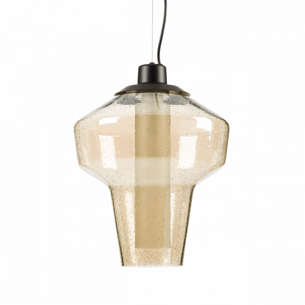 Подвесной светильник DieselПодвесные<br>Дизайн подвесного светильника Diesel разработан для тех, кто любит украшатьВинтерьерВбольшим количеством ламп. Подвесив несколько таких светильников рядом, вы непременно добьетесь ошеломляющего эффекта, способного порадовать ваших гостей и домашних. Минималистичный дизайн светильника освежен необычной лампой накаливания, чья форма в последнее времяВочень популярна в Европе и США. <br> <br> В 2009 году в компании Diesel решили запустить линейку мебели и освещения для своих клиентов....<br><br>stock: 3<br>Высота: 150<br>Диаметр: 31<br>Количество ламп: 1<br>Материал абажура: Стекло<br>Мощность лампы: 40<br>Ламп в комплекте: Нет<br>Напряжение: 220<br>Тип лампы/цоколь: E14<br>Цвет абажура: Коричневый